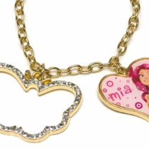 "Joy Toy 118070 ""Mia and Me Neck Chain with Heart/Butterfly Pendant with Rhinestones on Backer Card"