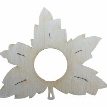 'Petra's Wooden Craft Name From The A SRH100810 10 x Maple Leaf Napkin Holder