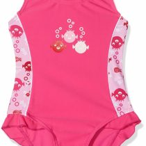 Beco Sealife Girl's Bathing Costume with UV Protection Pink