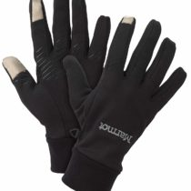 Marmot Connect Touch Screen Gloves, Men, Black