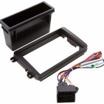 1 + 2 DIN Radio Installation Kit Including -, and Antennas Adapter