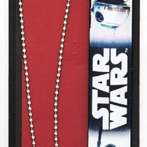 Joy Toy 91641 Star Wars BB-8 Slap Band and Necklace with Dog Tag Pendant Set