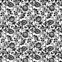 Fablon Heritage Black & White 45cm x 2M roll
