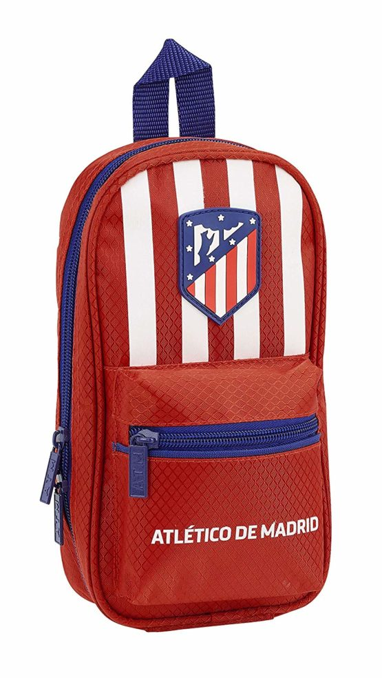 Atletico De Madrid 2018 Make-Up Pouch, 23 cm, Red (Rojo)