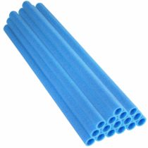 37 Inch Trampoline Pole Foam sleeves, fits for 1″ Diameter Pole – Set of 16 -Blue