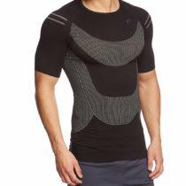 F-Lite Men's Megalight 140 Base Layer T-Shirt – Black, XX-Large