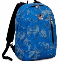 Backpack 2in1 Reversible Invicta Twist , LEAVES , Blue , 26 Lt , Pattern + Solid Colour