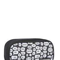 Chiemsee Bags Collection Pencil Case 24 cm, 1090 White/Black (Multicolour) – 5061045
