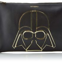 Alvarno Darth Vader Geométrico, Women's Top-Handle Bag, Black (Negro), 3x27x19 cm (W x H L)