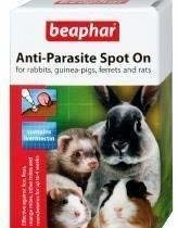 Beaphar Rabbit & Guinea Pig Anti-Parasite Spot On 4 Tubes