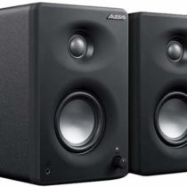 Alesis M1 Active 330 USB – Professional USB Desktop Speaker System (Pair) with USB Audio Interface, 3-Inch Aluminium Woofers and Bass Boost