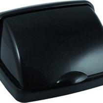Addis 50L Roll Top Bin Lid-Soft-Black, 38.5×33.5×19 cm