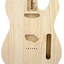 """'Allparts Tbao""""Swamp Ash Body for Tele Unfinished Replacement and Small Parts for Electric Guitar"""