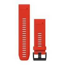 Garmin 010-12517-02 QuickFit 26 Silicone Band, Red (Flame Red)