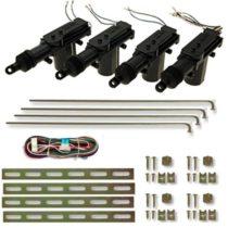 100ZV1 – Servo motor Central Door Lock Locking Kit for 4 doors Keyless Entry System Car Remote Control System