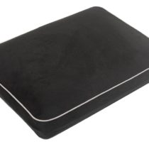 Aidapt Black Memory Foam Camping/Travel/Lumbar Support Cushion Pillow (Eligible for VAT relief in the UK)