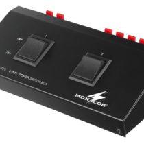 Monacor Speaker Switch Box for 2 Pair of Speaker (200 WMAX)