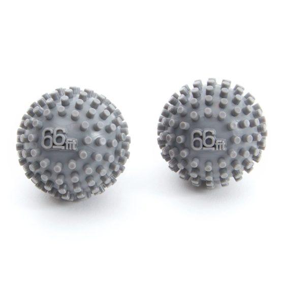 66fit Hand and Foot Massage Balls x 2pcs – Stress Reflexology Trigger Point Myofascial Release Ball