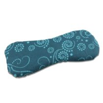 "'Green Woodpecker 151 Organic Linseed Eye Pillow""Totally Natural – Petrol Blue"