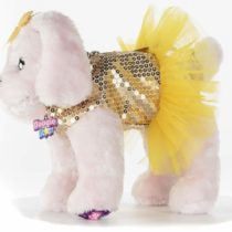 DOGGIE STAR® Puppy Shaped Bag Golden Labrador breed with tutu