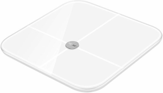 'HONOR AH100 Smart Scale Weighing Scales with Measuring Function of Different Values and Display in an app – White