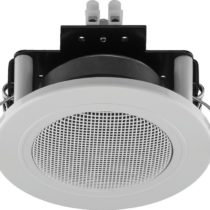 Monacor SPE-82/WS small, built-in speaker, 6watt, 4ohm, white
