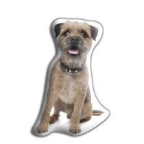 Adorable Cushions Border Terrier Shaped Cushion