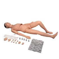 66fit Male Patient Care Manikin – Nurse Care Medical Training Aid