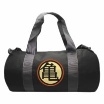 "ABYStyle – DRAGON BALL – Sac de sport ""Kame Symbol""-Grey/Black"