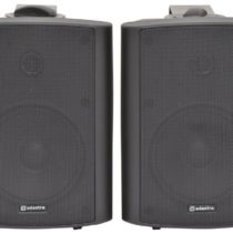 Adastra | Active 5.25in Speakers Pair | 2 x 30W | Black