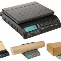 ABCON POSTSHIP Digital 40kg 88lb Black Letter Postal/Postage/Parcel/Shipping/Packet Scales Scale – 0-5kg/5g 5-40kg/10g – WORLDS MOST ADVANCED SCALE