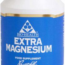 Bio Health Extra Magnesium Vegetarian Capsules, 125 mg, 120-Count