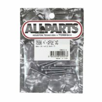 'Allparts GS 0011) Matte Screws Design Pickup (Abhnehmer Assembly Replacement and Small Parts for Electric Guitar Chrome