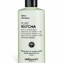 1 x UDO Walz Hairfood Detox Shampoo, Pure Matcha, 300ml