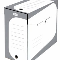 "'Elba Archive Box""Soho 20Pack   Cardboard   Grey/White, 15 cm breit"