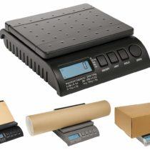 ABCON POSTSHIP Digital 20kg 44lb – from 1g Increments – Black Letter Postal/Postage/Parcel/Shipping/Weighing/Packet Scales Scale – 0-1kg/1g 1-5kg/2g 5-20kg/5g