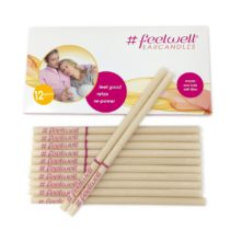 12 Pieces (6 Pairs) BIOSUN Feelwell Earcandles With Safety Filter