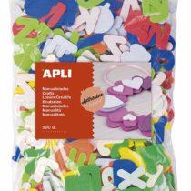 Adhesive EVA Foam Shapes Letters 500 Pieces