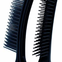 2Tweezers with Pins, Serve as Brush, Black