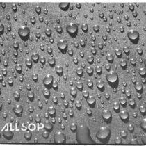 Allsop Raindrop Design Mouse Pad with Non-Slip Backing – Black/Grey