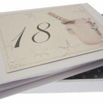 18th Birthday, Mini Photo Album, Champagne Bucket