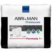 Abena Abri-Man Formula 1 Premium, Male Anatomically Shaped Pad, 450ml