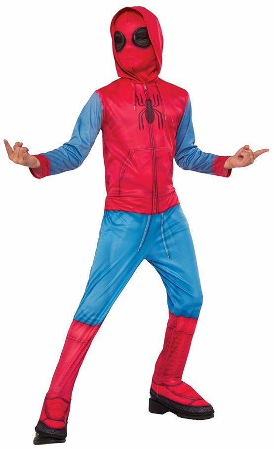 Rubie's 640129L SPIDERMAN Marvel Spider-Man Homecoming Sweats Child Costume, Large