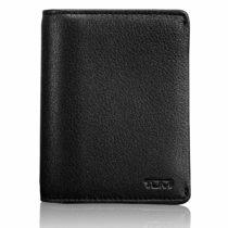 Tumi Nassau Credit Card Case, 10 cm, Black (Black Smooth)