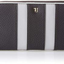 Wallet Zip Around stripes Trussardi Jeans