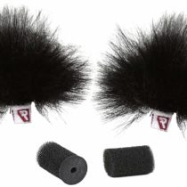 Rycote 065552 Windjammer for Ristretto Lavalier – Black (Pack of 2)