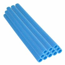 37 Inch Trampoline Pole Foam sleeves, fits for 1.5″ Diameter Pole – Set of 16 -Blue