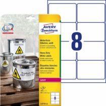 105597 – Avery Heavy Duty Labels (White)