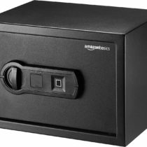 AmazonBasics Biometric Fingerprint Safe – 10 l