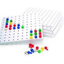 5 Peg Boards & Pegs (Invicta)